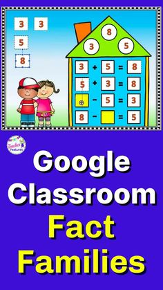 Google Slides makes Distance Learning easy with Fact Families