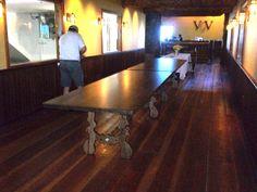 Arcadia Kitchen Table in Custom Ash Arcadia Furniture, Dining Room Furniture, Ash, Table Settings, Dining Table, Kitchen, Home Decor, Gray, Dining Room Table