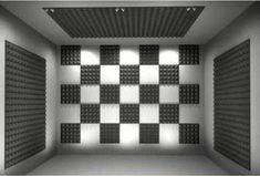 New Home Studio Recording Design Sound Proofing Ideas Soundproof Panels, Studio Soundproofing, Home Music Rooms, Music Studio Room, Studio Foam, Interior Design Layout, Drum Room, Foam Panels, Gaming Room Setup