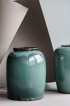 2-teilig Groß House Doctor Vase mit Ständer Ada