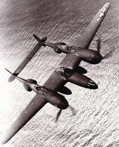 Lockheed P-38 Lightning by amphalon, via Flickr
