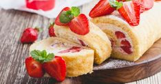 Let me introduce you to this wonderful vanilla sponge cake filled with fresh strawberry and… – sagittal-swell Chantilly Cream, Vanilla Sponge Cake, Indian Desserts, Sweet Cakes, Strawberry Shortcake, Nutritious Meals, Cake Recipes, Cheesecake, Snacks