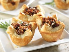 Honeyed Fig and Pancetta Tarts.  Pancetta and Figs  feel so fancy this time of year!