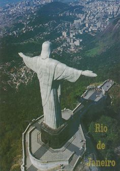 Christ The Redeemer, Rio 2016, Statue Of Liberty, To Go, God, Places, Travel, Statue Of Liberty Facts, Dios