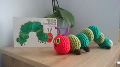 Ravelry: Hungry Caterpillar inspired soft toy pattern by Karen Goss
