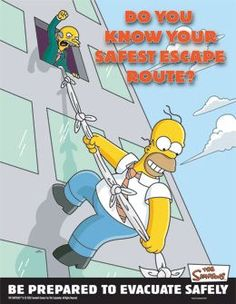 Hahaha. Homer.... but hey.. at least he's out??