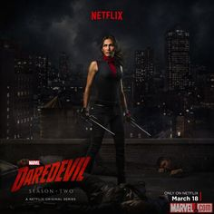 Elodie Yung stars as Elektra in Marvel's Daredevil