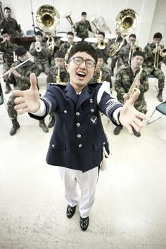 Sgt Ryu, Tenor in the Air Force Military Band. Debuted as the youngest korean opera singer in Europe