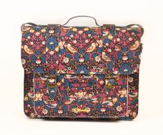 SMALL LEATHER SATCHEL  £145.00    The Liberty London for Dr. Martens collection launches exclusively here at Liberty on 1st May.
