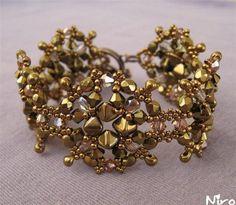 metallic color bracelet