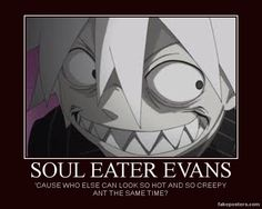 favorite character making a weird face! XD - question and answer in the Anime club Soul Eater Stein, Soul Eater Evans, Soul And Maka, Creepy Smile, Anime Soul, Wtf Face, Face Reference, Drawing Reference, Gurren Lagann