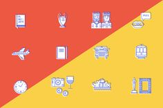 Embassy of Spain infographics on Behance