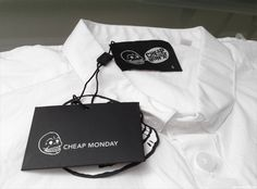 Recent Purchases: Cheap Monday White Button up Shirt http://www.anthonyztv.com/2013/08/recent-purchases-cheap-monday-shirt.html