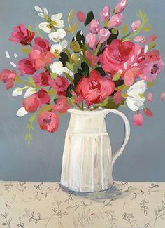 Decoupage Vintage, Vintage Vases, Watercolors, Watercolor Paintings, Flower Pot Art, Love You Gif, Cartoon Painting, Art Friend, Wonderwall