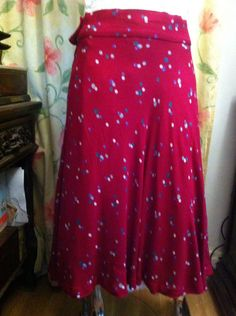 A personal favourite from my Etsy shop https://www.etsy.com/uk/listing/267563709/red-bubble-print-full-skirt-quality