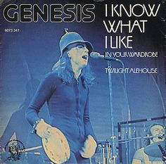 GENESIS - I KNOW WHAT I LIKE (IN YOUR WARDROBE) - 1974*