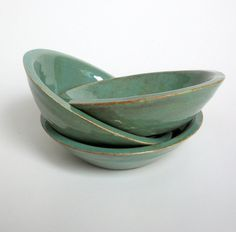 Set of 3 Small Ceramic Sauce Bowls by JMNPOTTERY on Etsy, $18.00