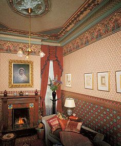 Victorian Home Wallpapers | Dresser I Room Set as seen on Boardwalk Empire | Bradbury & Bradbury