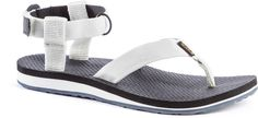Teva Original Sandals | On REI for $19.83 | Some things get better with age, like fine wine and Teva sandals. It's been 30 years since the women's Teva Original Sandals debuted, and they're better than ever and built to last. Nylon webbing ankle straps adjust with rip-and-stick closures Anatomic EVA topsoles provide extra support and comfort; open-toe construction doesn't allow water to pool The women's Teva Original Sandals have durable rubber outsoles for good traction on wet surfaces