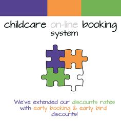 We've added to our designed for providers, enabling them to offer & discount rates to encourage parent's to book early and improve After School Club, Early Bird, Enabling, Cob, Wraparound, Childcare, Software, Encouragement, Books