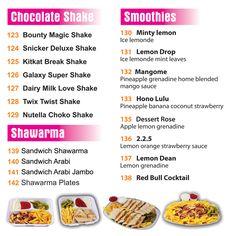 Chocolate Shakes, #Shawarma, variety smoothies and much more @ #JuiceWorld: http://juiceworld.com.sa
