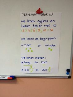 Doelenposter, zichtbaar maken waar we aan werken. Visible Learning, I Love School, Leader In Me, Best Teacher, Primary School, Classroom Management, Spelling, Activities For Kids, Teaching