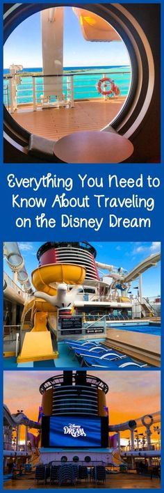 Everything that you need to know about cruising on the Disney Cruise Line's Disney Dream, including food, activities, shows, and more. #ad #familytravel #disney