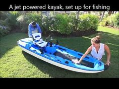 Jet Powered Kayak! - YouTube