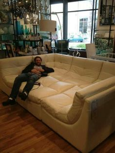 Must have this, then we can all lay comfortably together. Family snuggles are best.