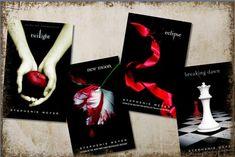 the twilight saga books twilight, new moon, eclipse and breaking dawn I Love Books, Great Books, Books To Read, My Books, Amazing Books, Amazing Movies, Teen Books, Music Books, Breaking Dawn