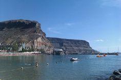 Playa de Mogán en Canarias