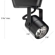 WAC Lighting LHT-809L Low Voltage Track Heads Compatible with Lightolier Systems (Nickel Finish)