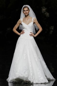 URI - Pronovias 2013 Bridal Collection, via Flickr.