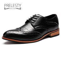 Crocodile Men Formal Oxford Shoe Genuine Leather
