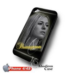 iOffer: Maria Sharapova iPhone 4 4S Case for sale on Wanelo