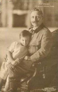 Kaiser Wilhelm II. und Enkel Prinz Wilhelm | Flickr - Photo Sharing!