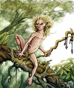 Yacy Yateré, deus da sesta, único dos sete a não aparecer como monstro