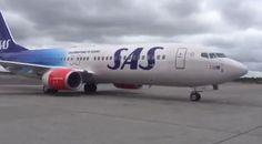 SAS in new design Her er det nye SAS-flyet i Norge