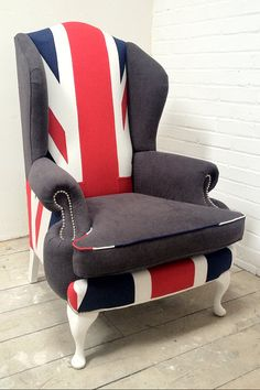 Queen Anne arm chair - more furniture decor ideas @BrightNest Blog. #Olympics