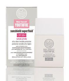 Make Yourself Youthful™<br>Sunshield Superfluid™ SPF50+