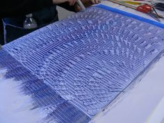 Photos from the paste papers workshop Feb 2013 with Lynn Gall.