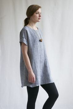 Jane Pocket Dress - Indigo