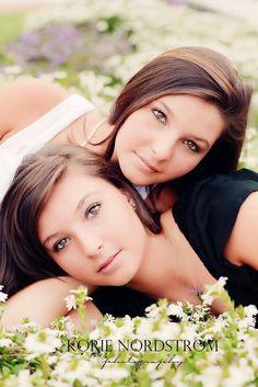 twin senior girls by mallory