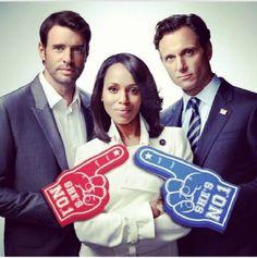 Jake, Olivia, Fitz Scandal