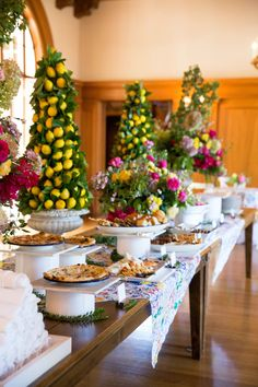 Event Bright Floral Baby Shower in Saratoga, California, USA, by Taste Catering & Event Planning Delicious Catering, Food Displays, Buffet Displays, Balloon Installation, Food Stations, Banquet Tables, Home Scents, Floral Baby Shower, House Smells
