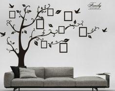 Etiqueta de la pared de árbol genealógico