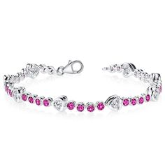 Sterling Silver Ruby Bracelet. Get the lowest price on Sterling Silver Ruby Bracelet and other fabulous designer clothing and accessories! Shop Tradesy now