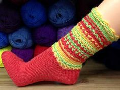 Socke *SixtyStyle* von Birgit Freyer - knitting pattern