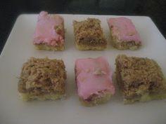 CWA Cherry Nut Slice Recipe Larder, Sweet Treats, Cherry, Heaven, Homemade, Brownies, Slice Recipe, Cooking, Desserts