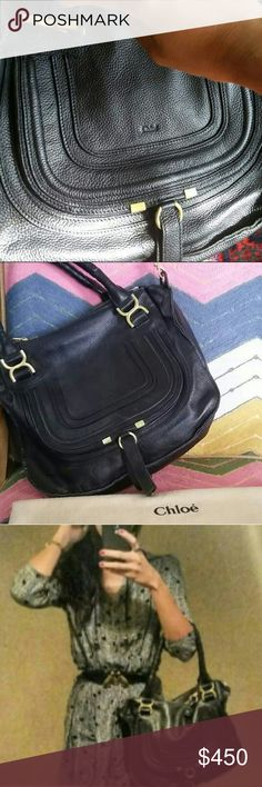 Chloe handbag medium Like a picture perfect real leather good smell clean amazing perfect condition bag , before asking the answer is no... ?????? with dust bag Chloe Bags
